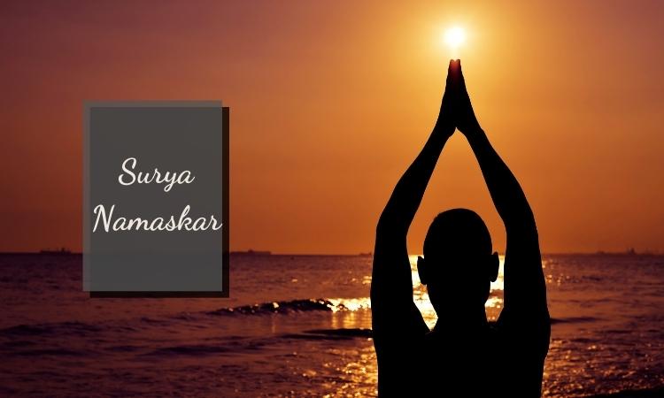 Các bài tập thể dục giảm mỡ bụng hiệu quả: Surya Namaskar (Sun Salutation)