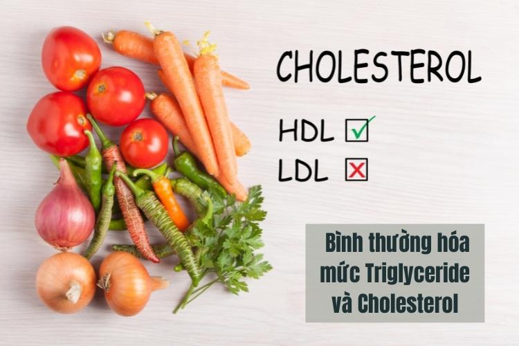 Atkins giúp giảm cholesterol HDL và chất béo có liên quan đến bệnh tim