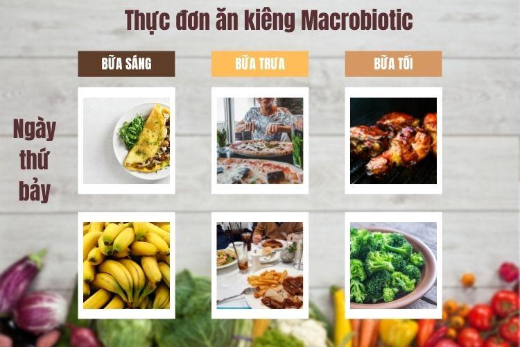 Thực đơn ăn kiêng Macrobiotic ngày 7