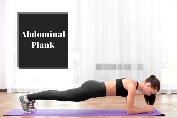 Các bài tập thể dục giảm mỡ bụng hiệu quả: Abdominal Plank