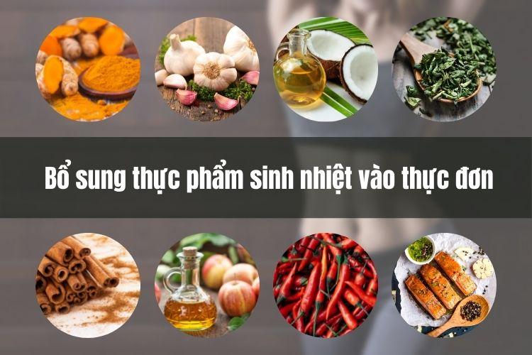 Bổ sung thực phẩm sinh nhiệt hỗ trợ quá trình giảm cân, đốt mỡ