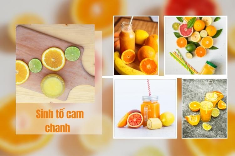 Ăn cam và chanh giúp cơ thể giảm lượng cholesterol xấu, giảm mỡ bụng