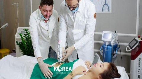 Quá trình thực hiện giảm béo Max Thin Oneday không đau tại Viện thẩm mỹ Korea