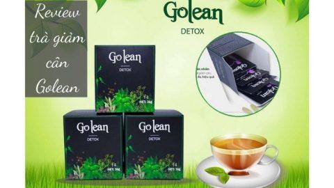 Review sản phẩm trà giảm cân Golean