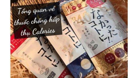 Tổng quan về thuốc chống hấp thụ Calories