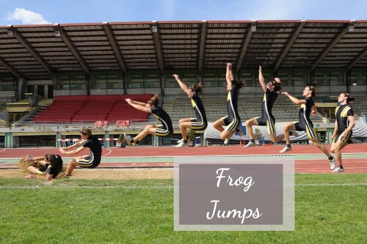 Bài tập giảm mỡ đùi cực hiệu quả trong 1 tuần với Frog Jumps