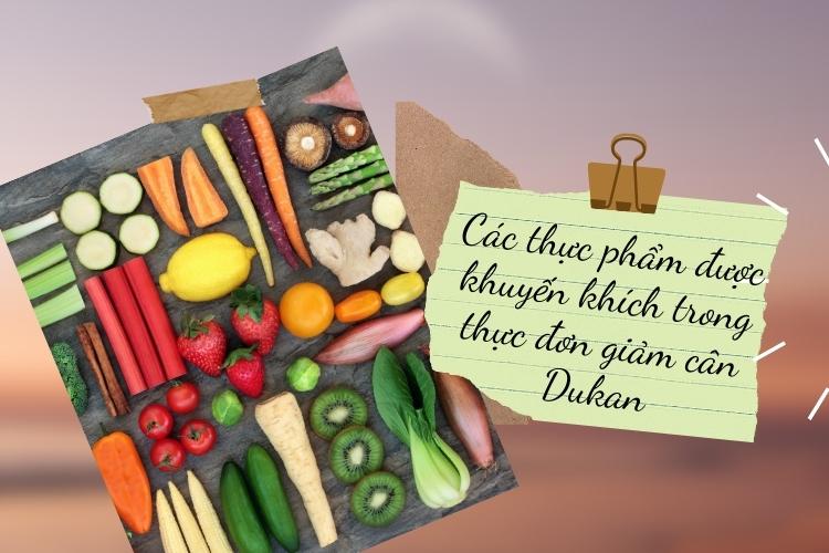 Cùng bỏ túi danh sách thực phẩm nên ăn khi thực hiện chế độ này nhé