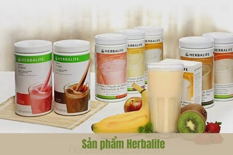 Herbalife sản xuất các sản phẩm rất đa dạng đủ mọi chủng loại