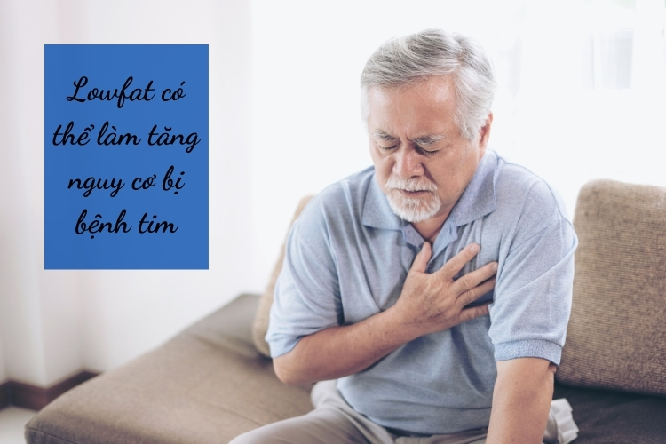 Thậm chí Lowfat còn có thể làm tăng nguy cơ mắc bệnh tim