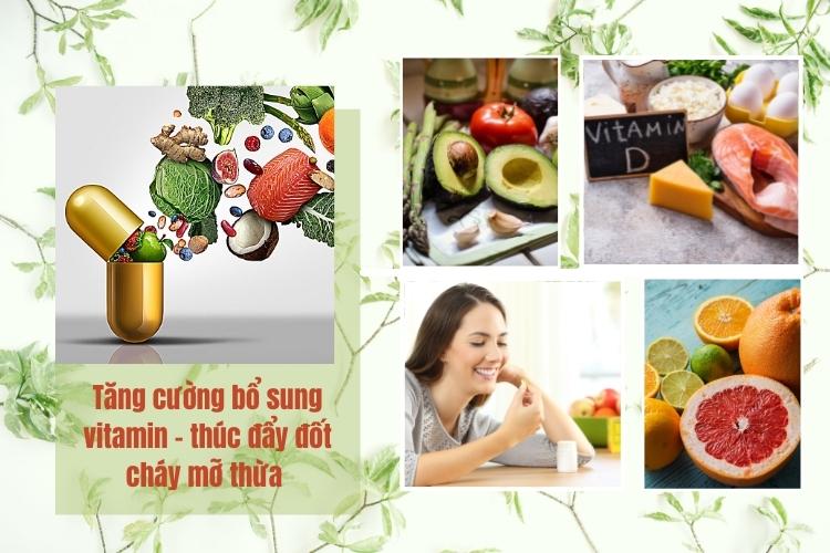 Bổ sung vitamin cần thiết