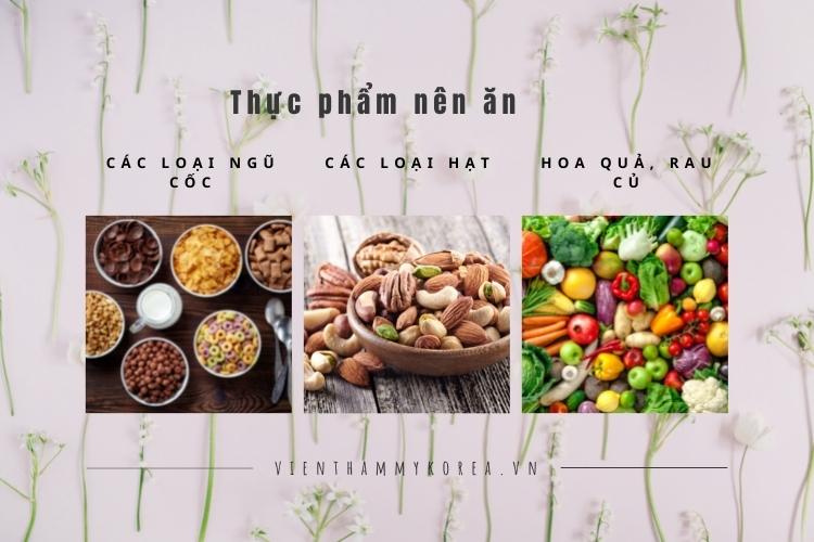 Một số loại thực phẩm mẹ bỉm sữa nên ăn trong thời gian giảm béo