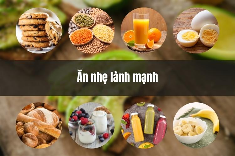 Bầu thường rất nhanh đói, vì thế mẹ bỉm sữa nên chọn thực phẩm ăn nhẹ lành mạnh tránh tăng quá nhiều cân