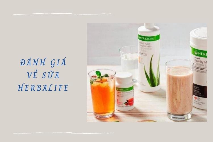 Vậy sữa Herbalife có thực sự tốt như mọi người vẫn nghĩ