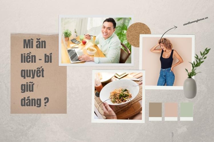 Bí quyết ăn mì mà không gây tăng cân
