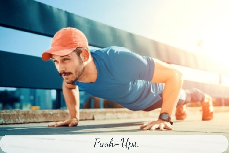 Bài tập giảm mỡ lưng vai Push Up