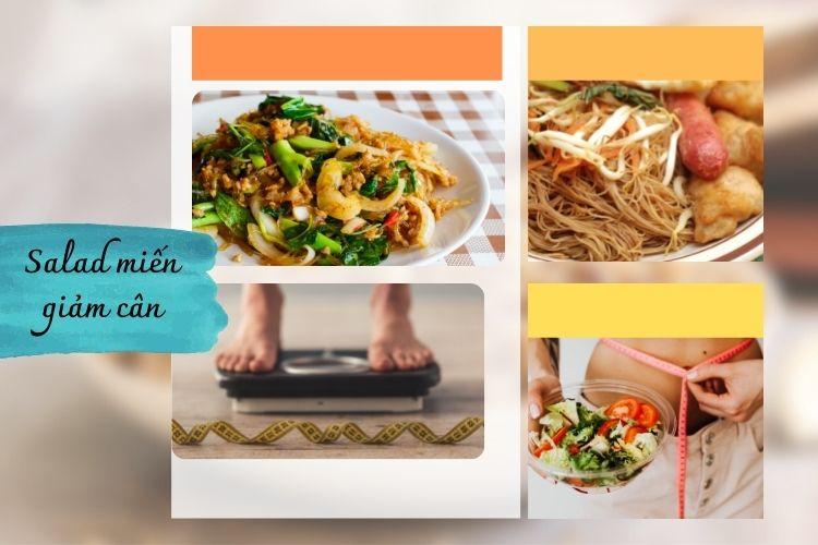 Salad miến giảm cân