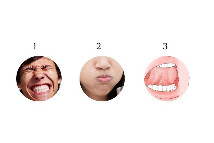 Bài tập giúp giảm mỡ nọng cằm Smile