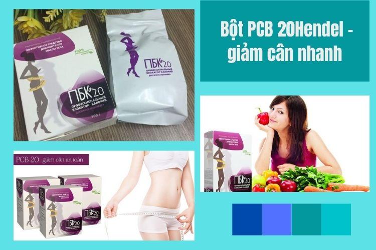 Bột giảm cân an toàn PCB 20 Hendel