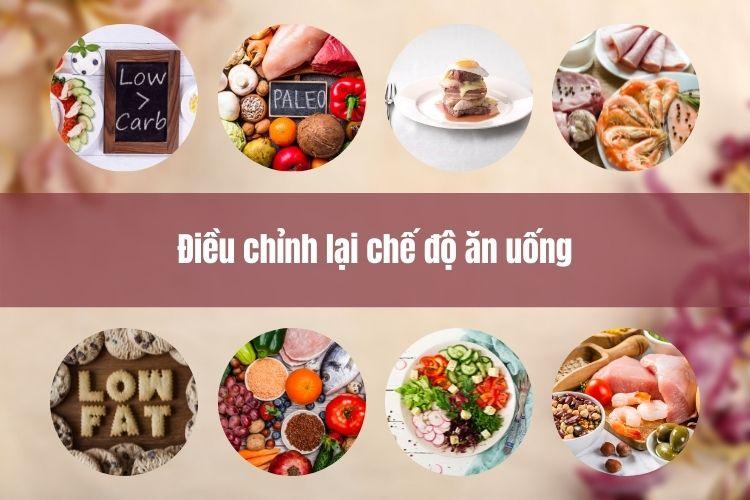Điều chỉnh là chế độ ăn uống lành mạnh hơn giúp cải thiện mỡ thừa vùng bụng