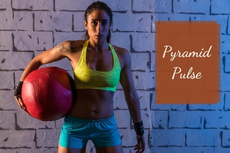 Bài tạp giảm mỡ nách Pyramid Pulse