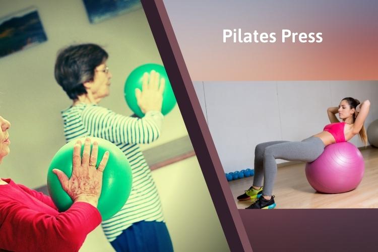 Bài tập giảm mỡ lưng vai Pilates Press