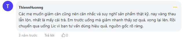 Thienhuong đưa ra lời khuyên