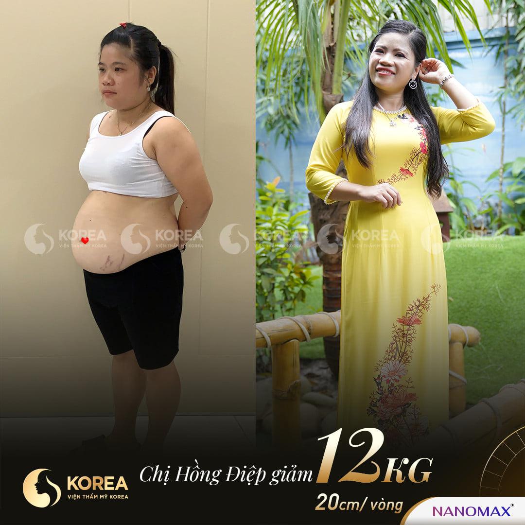 Chị Điệp hóa thiếu nữ đôi mươi khi vứt bỏ 12kg mỡ.